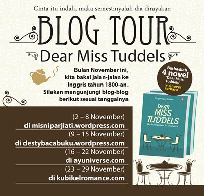 blog tour dear miss tuddels