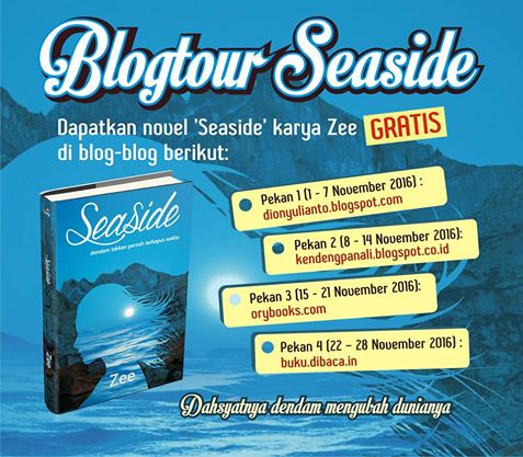 Blog Tour Seaside karya Zee Selama Bulan November 2016