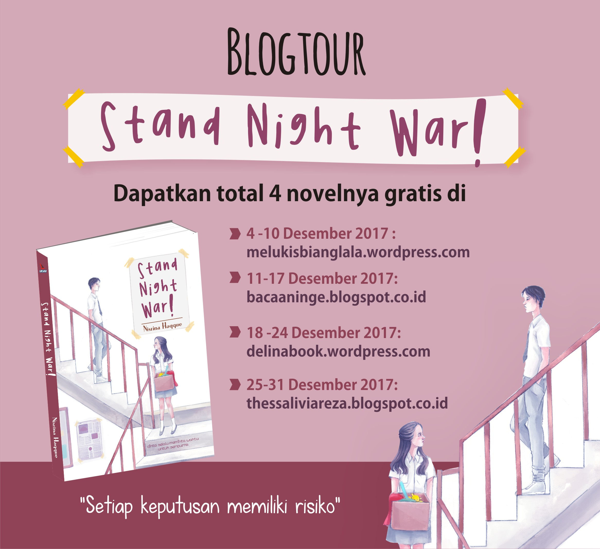 Blog Tour Stand Night War Selama Bulan Desember 2017